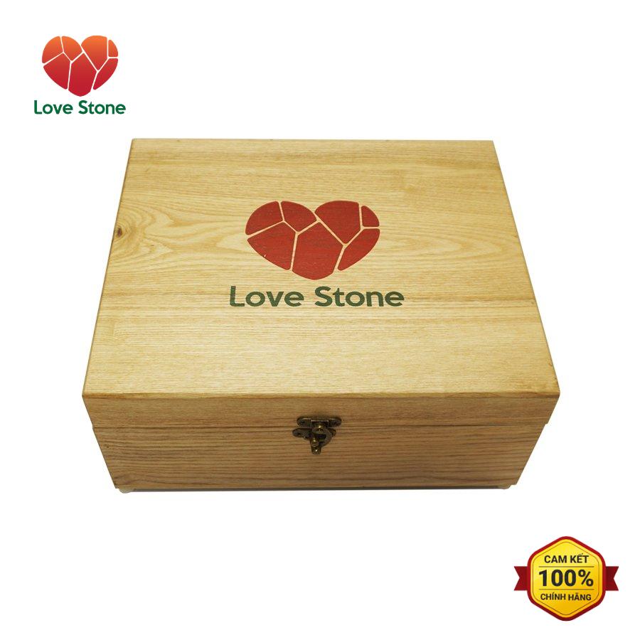 Hộp Đá Muối Massage Chân Love Stone Magic