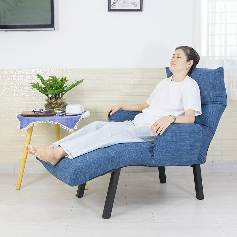 Ghế nằm dành cho bà bầu, nghế thư giãn, ghế đọc sách , ghé xem tivi QL360 Xanh