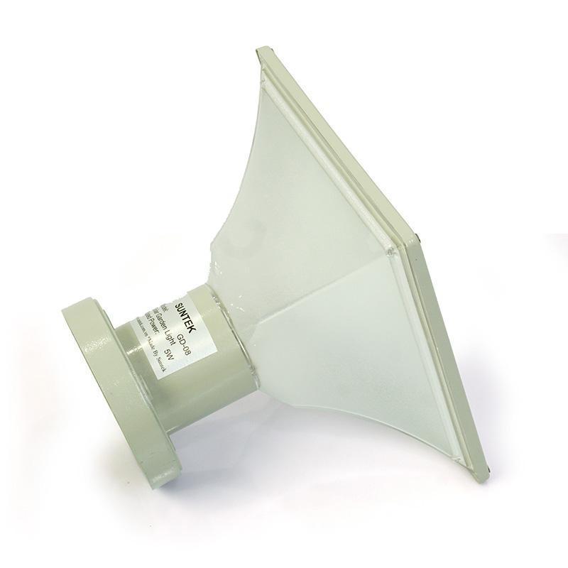 Đèn Trụ Cổng Năng Lượng Mặt Trời SUNTEK GD-08(Vuông)- Hàng Chính Hãng