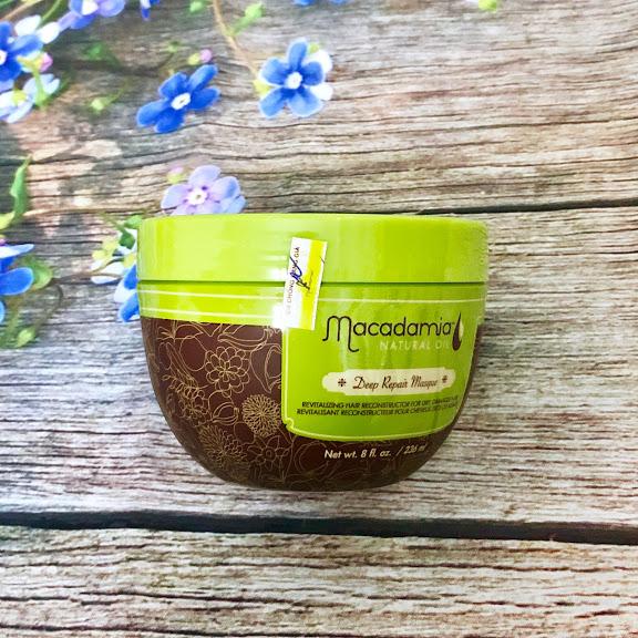 Hấp dầu Macadamia Deep Repair Masque phục hồi tóc hư tổn siêu mượt Mỹ 236ml