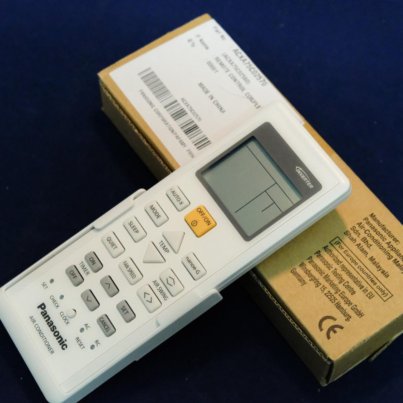 Điều khiển điều hoà Panasonic Model CS-U12TKH-8-Hàng chính hãng