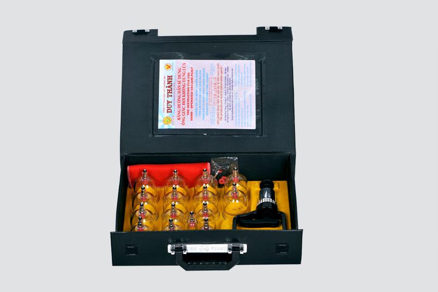Bộ Giác Hơi Không Dùng Lửa Duy Thành YGH02 (15 Ống)