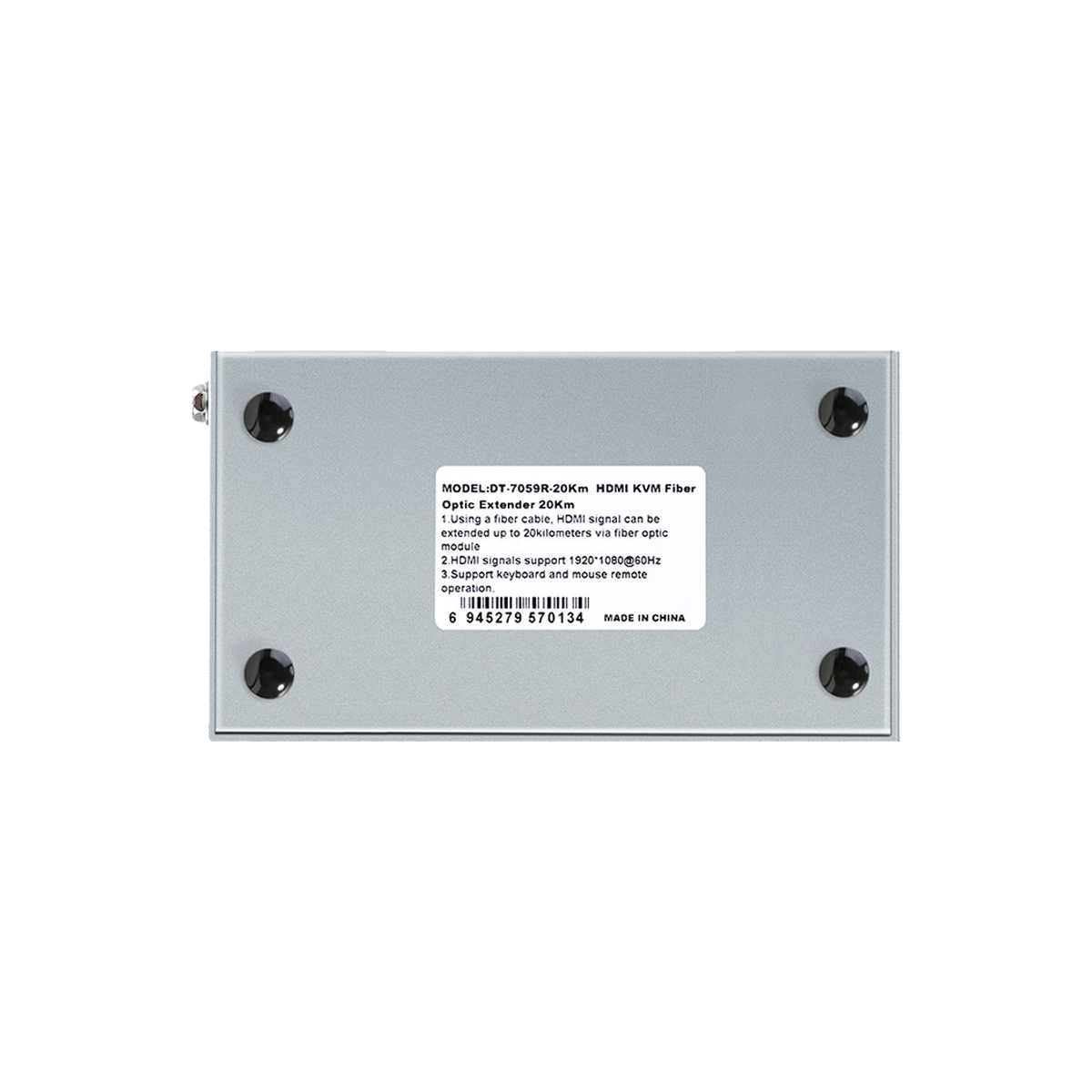 Bộ chuyển đổi kéo dài hdmi sang cáp quang DTECH DT-7059 (2 thiết bị)- Hàng Chính Hãng