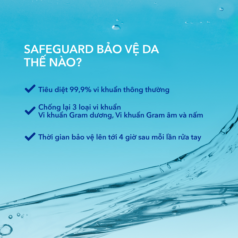 Nước Rửa Tay Safeguard Hương Chanh (450ml)