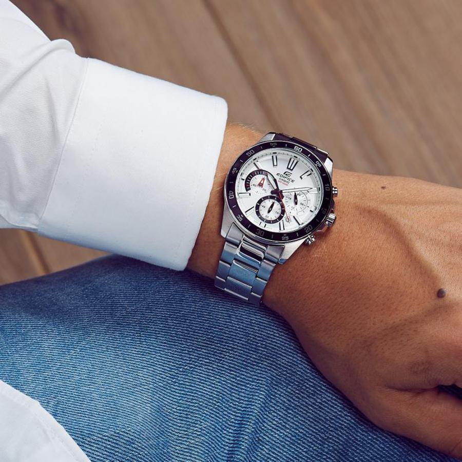 Đồng hồ nam dây kim loại Casio Edifice chính hãng EFV-570D-7AVUDF