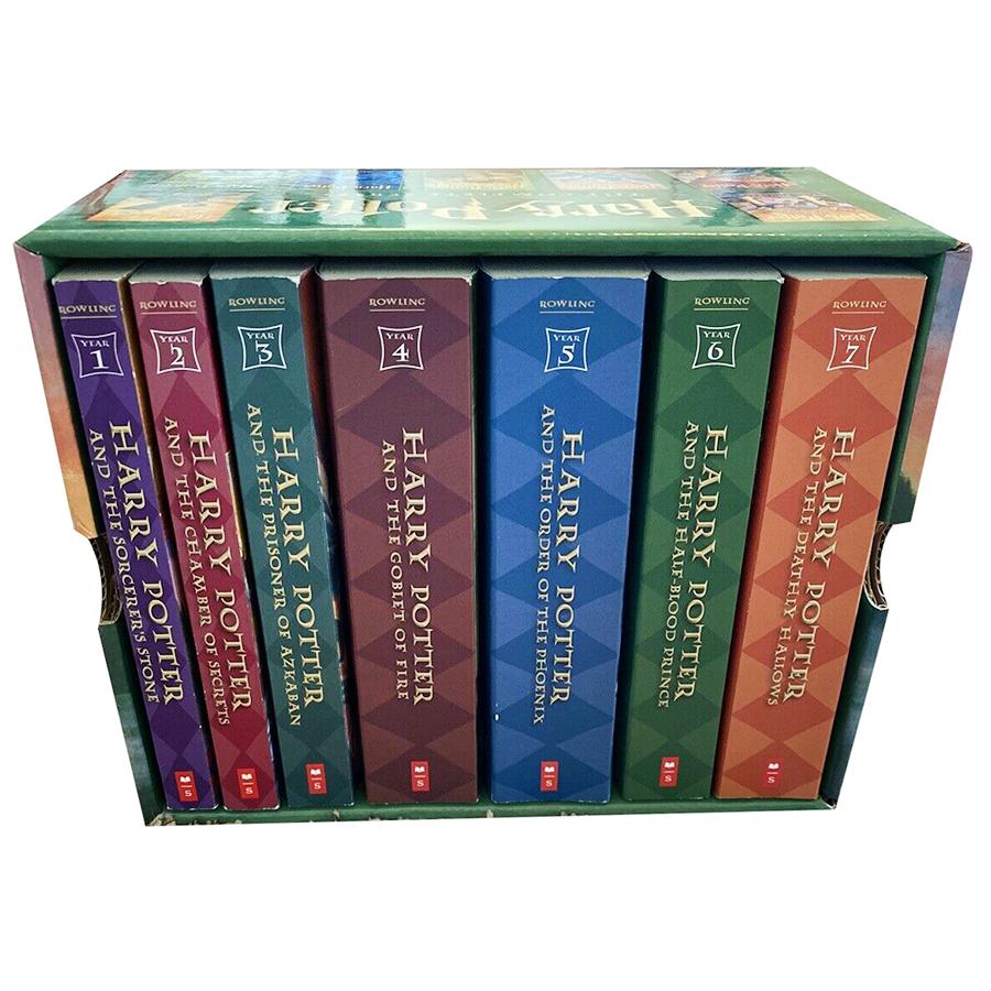Harry Potter - Paperback Boxed Set : Books 1 - 7 (Scholastic US Version) (English Book)