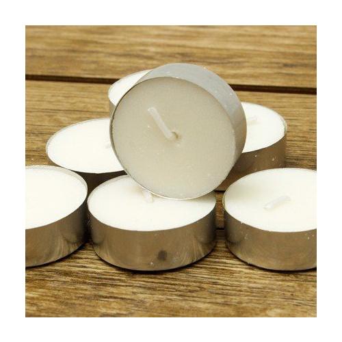 Nến tealight 50 viên màu đỏ không mùi dày 1.5cm cháy từ 4h-5h | Bio Aroma