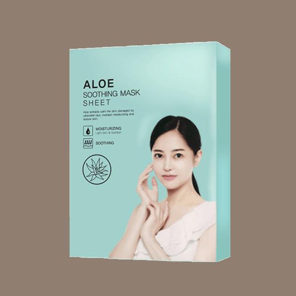 Mặt nạ cao cấp tinh chất Lô Hội – Mulbit Aloe Soothing Mask Sheet