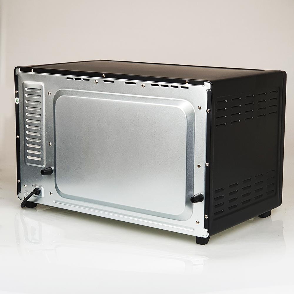 Lò nướng điện vuông 45L, công suất 2000W Nagakawa NAG3245 quạt đối lưu, có xiên que nướng được gà nguyên con - Hàng nhập khẩu