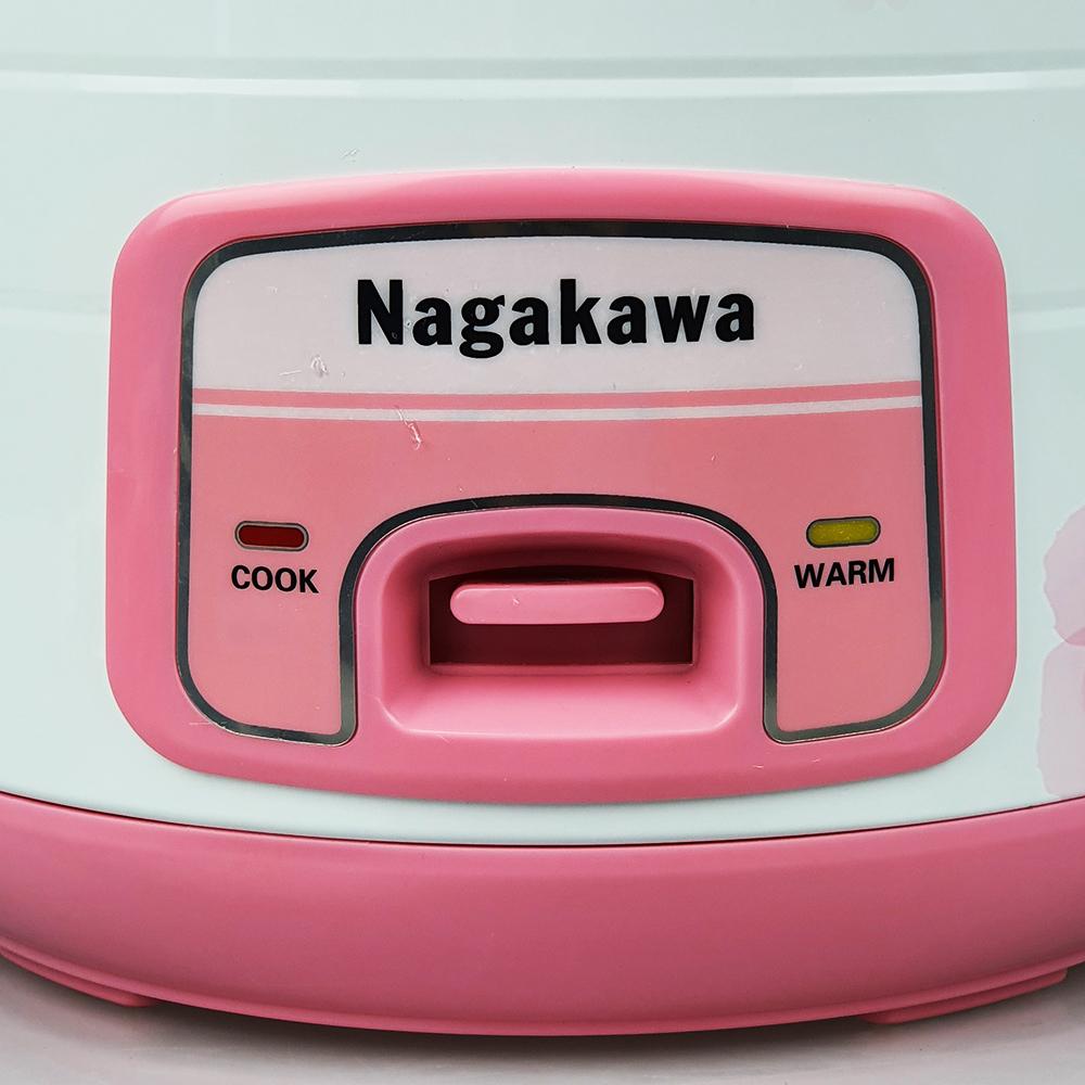 Nồi cơm điện nắp gài 1.8L Nagakawa NAG0113 - Hàng nhập khẩu