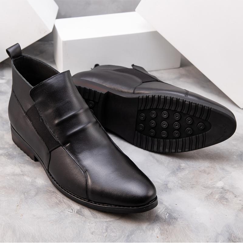 Giày Chelsea Boot cổ lửng kiểu dáng mới nhất