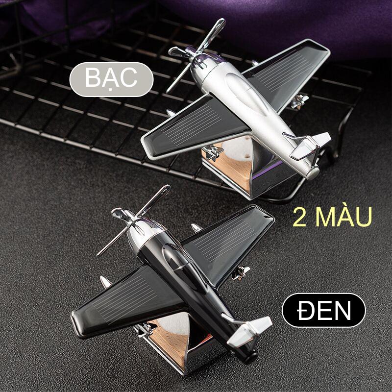 Tinh dầu thơm xe hơi mô hình máy bay chiến đấu chạy bằng năng lượng mặt trời
