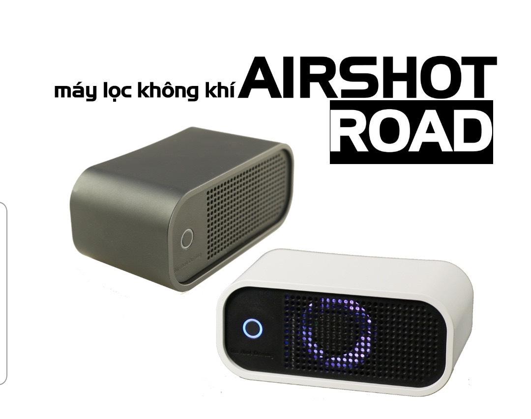 Máy lọc không khí ô tô Airshot Road | Sản phẩm chính hãng Hàn Quốc | Sử  dụng công nghệ đèn LED UV khử trùng mạnh mẽ - Máy lọc không khí |  DienMayThanh.com