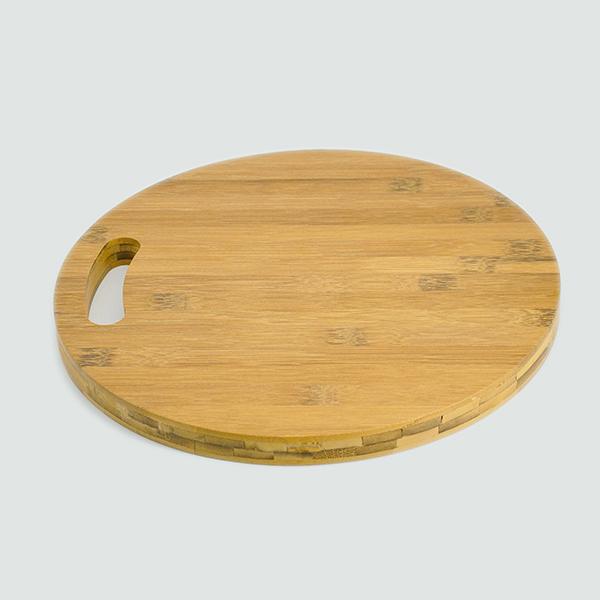 Thớt Gỗ tre tự nhiên Việt Nam cao cấp không mùn chống mốc nhiều kiểu dáng lựa chọn,Gỗ tre thân cỏ dẻo dai chống mối mọt cong vênh phù hợp với thời tiết nóng ẩm tại Việt Nam - Thớt gỗ tre tròn và hình chữ nhật