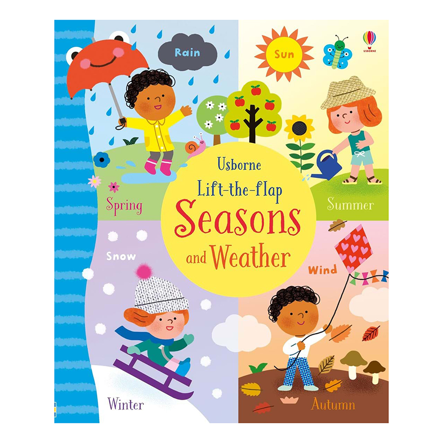 Usborne Lift-The-Flap: Seasons And Weather