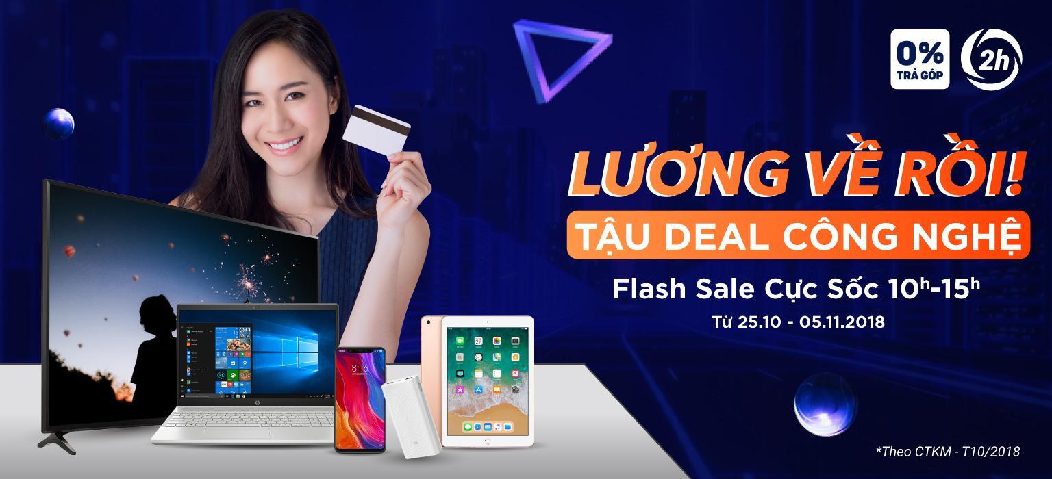 Lương Về Rồi - Tậu Deal Công Nghệ - Flash Sale Mỗi Ngày Từ 10h-15h [MUA NGAY]