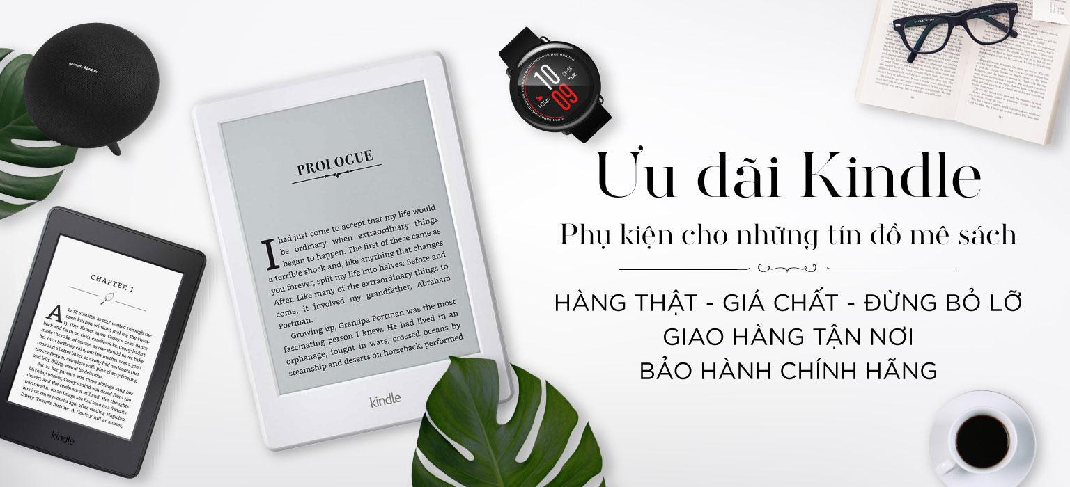 Ưu đãi Kindle - Phụ kiện cho những tín đồ mê sách | [XEM NGAY]