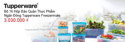 Hộp bảo quản thực phẩm Tupperware