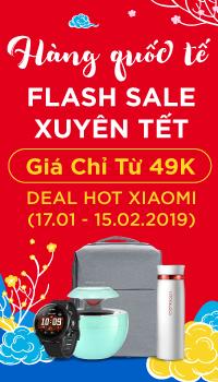 Flash sale Hàng ngoại nhập - Giá chỉ từ 99k