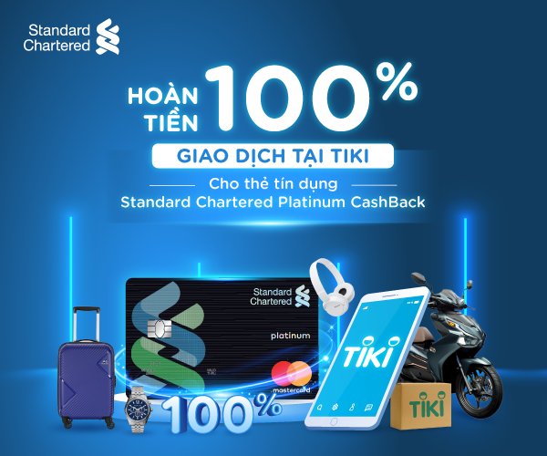 Mở thẻ Standard Chartered 2020