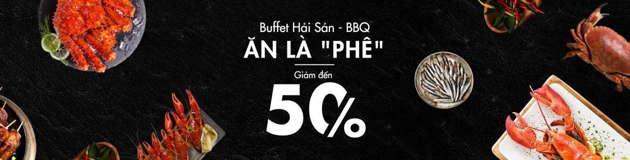 buffet hải sản bbq