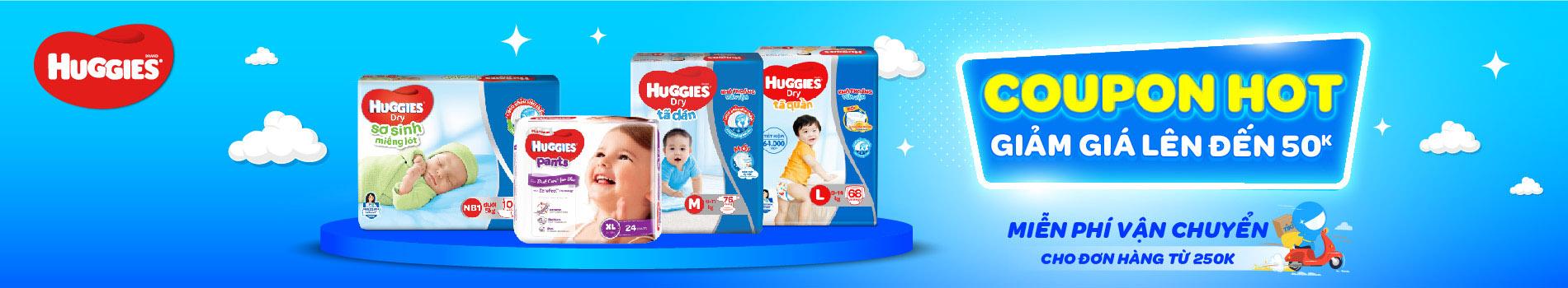 Huggies - Tả dán chính hãng