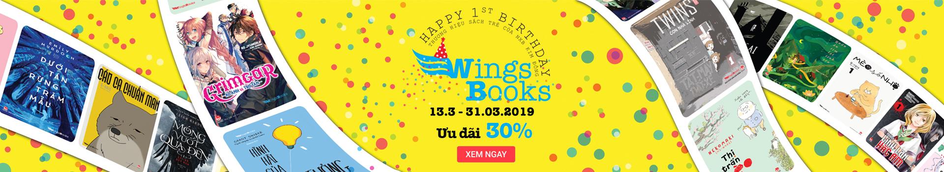 Mừng Sinh Nhật Wingsbooks