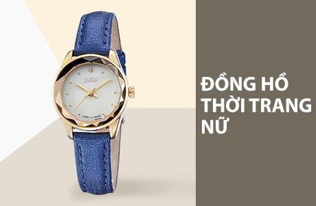 Đồng hồ thời trang, casual nữ