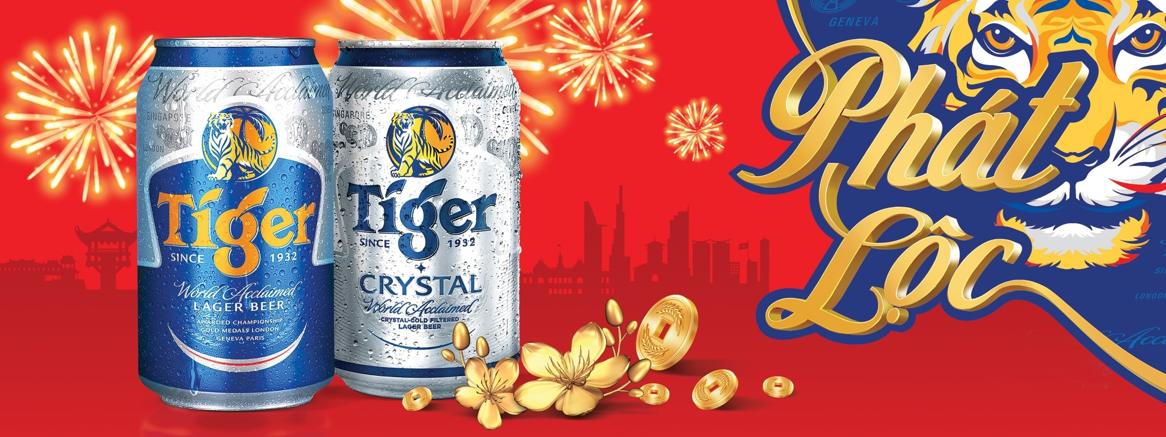Tiger bia xứng tầm châu Á