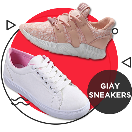 Giày sneakers nữ