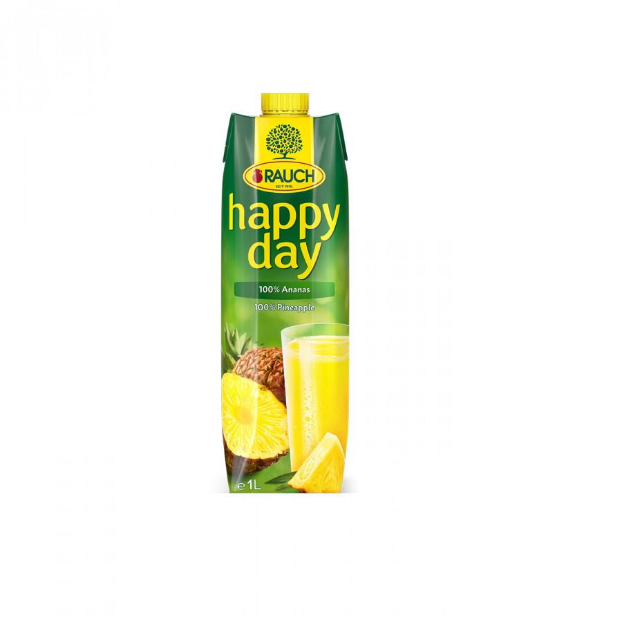 Nước Ép Dứa nguyên chất 100% Rauch - Happy Day 1L