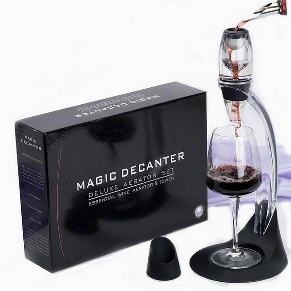 Bình Lọc Rượu Vang Magic Decanter Deluxe Aerator Complete Set