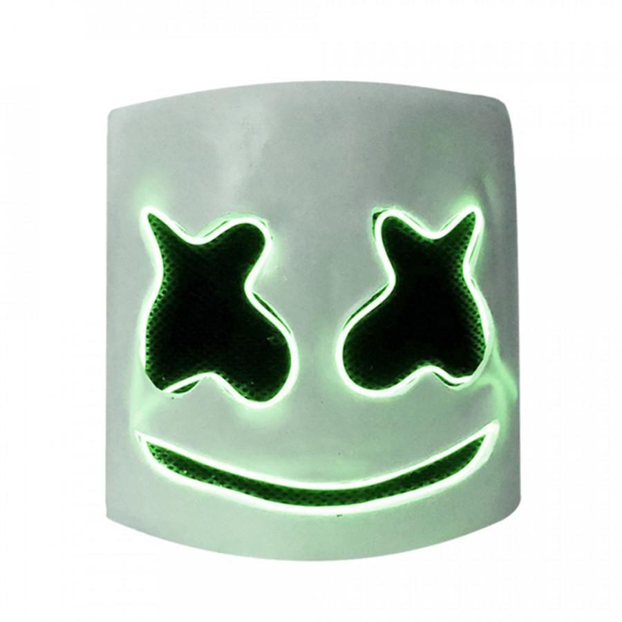 LED DJ Marshmello Helmet Music Festival Light Up Marshmallow Mask Halloween Novelty Costume Party Latex Mask - 2019034 , 4872529122046 , 62_15210661 , 497000 , LED-DJ-Marshmello-Helmet-Music-Festival-Light-Up-Marshmallow-Mask-Halloween-Novelty-Costume-Party-Latex-Mask-62_15210661 , tiki.vn , LED DJ Marshmello Helmet Music Festival Light Up Marshmallow Mask Ha