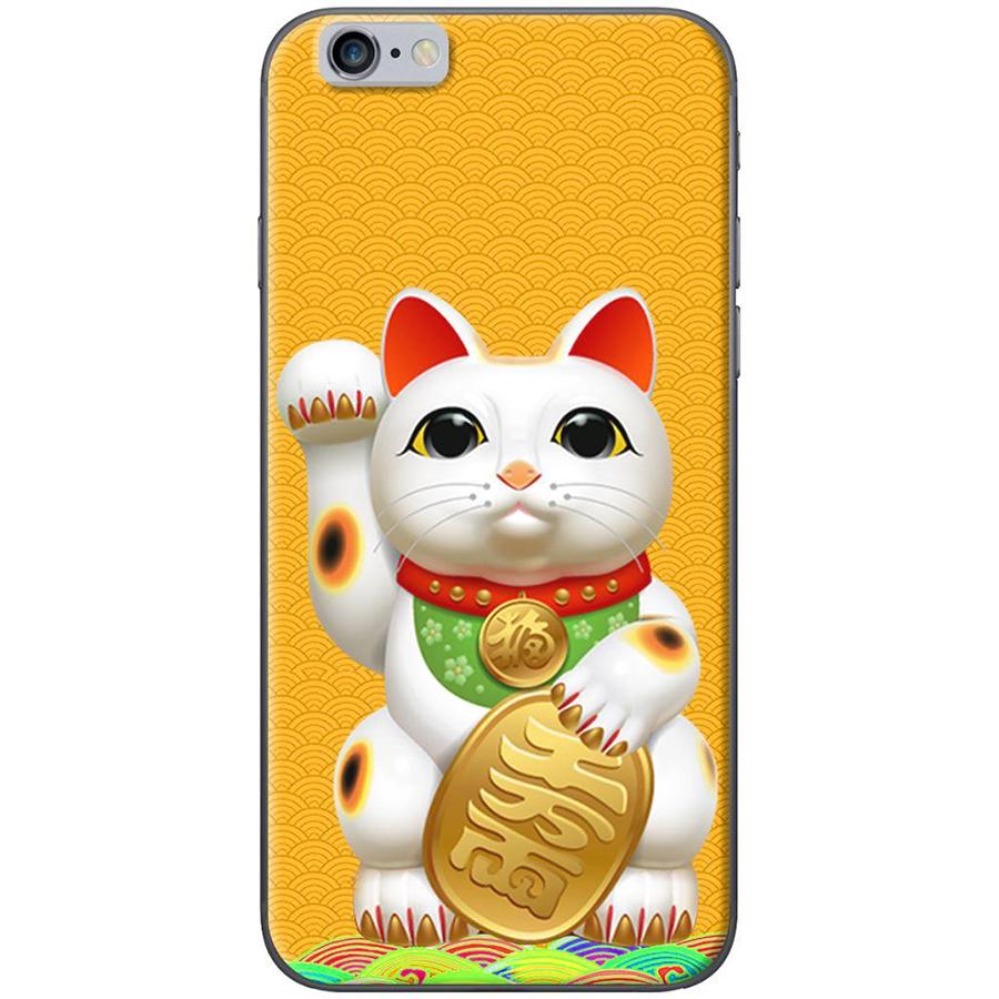 Ốp Lưng Dành Cho iPhone 6/ 6S Và iPhone 6 Plus/ 6S Plus - Mèo May Mắn Nền Vàng - 1079739 , 7618560657447 , 62_6738501 , 120000 , Op-Lung-Danh-Cho-iPhone-6-6S-Va-iPhone-6-Plus-6S-Plus-Meo-May-Man-Nen-Vang-62_6738501 , tiki.vn , Ốp Lưng Dành Cho iPhone 6/ 6S Và iPhone 6 Plus/ 6S Plus - Mèo May Mắn Nền Vàng