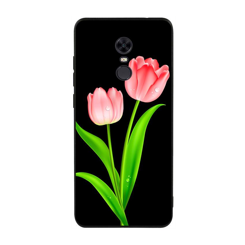 Ốp lưng viền TPU cho điện thoại Xiaomi Redmi 5 Plus - Tulip 01