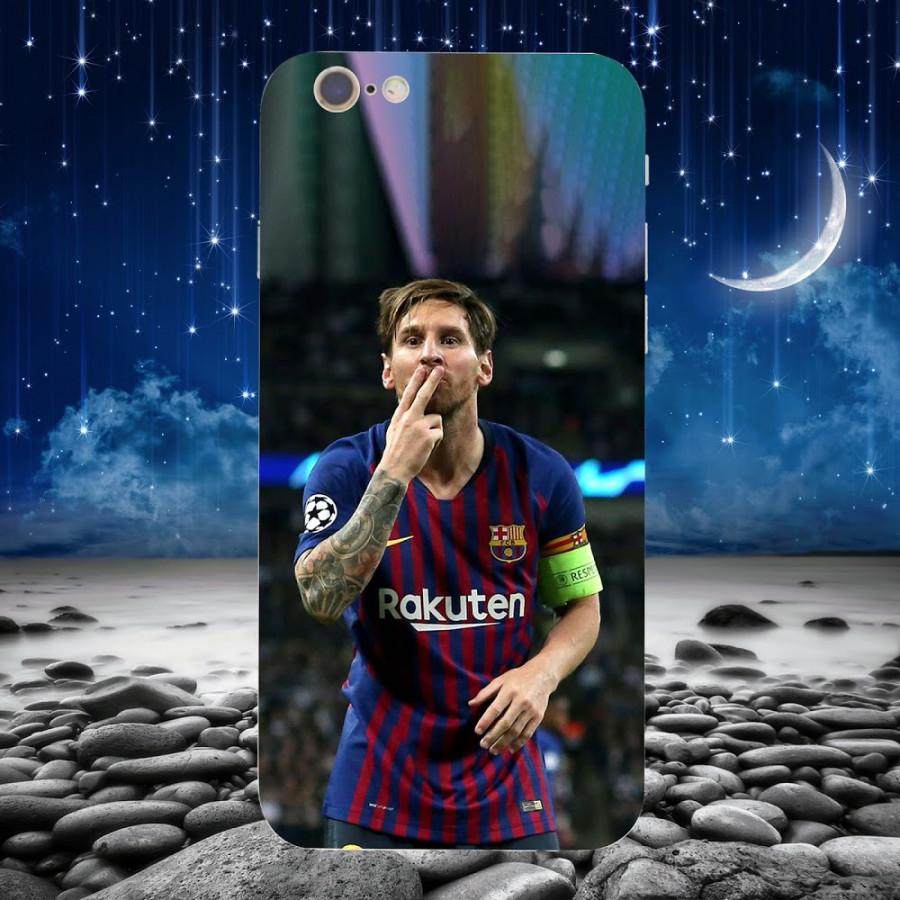 Ốp Lưng Messi ,Dành Cho Máy Iphone 6, 6s-Ốp Cứng Viền TPU Dẻo,Ốp Cao Cấp