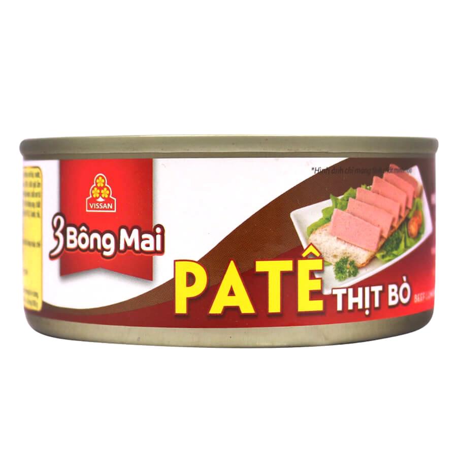 Combo 4 hộp Pate Thịt Bò 3 Bông Mai Vissan (150g) - 1770860 , 8553499969478 , 62_12562659 , 75000 , Combo-4-hop-Pate-Thit-Bo-3-Bong-Mai-Vissan-150g-62_12562659 , tiki.vn , Combo 4 hộp Pate Thịt Bò 3 Bông Mai Vissan (150g)