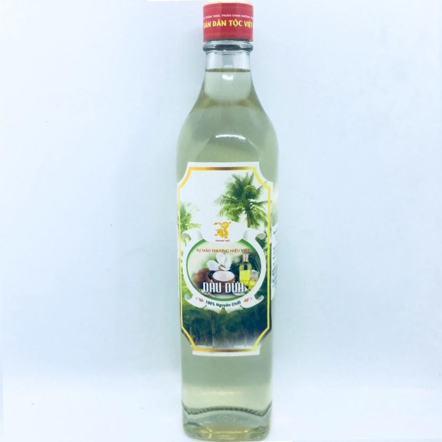 Dầu dừa 100% nguyên chất Trường Thọ (chai 500g)