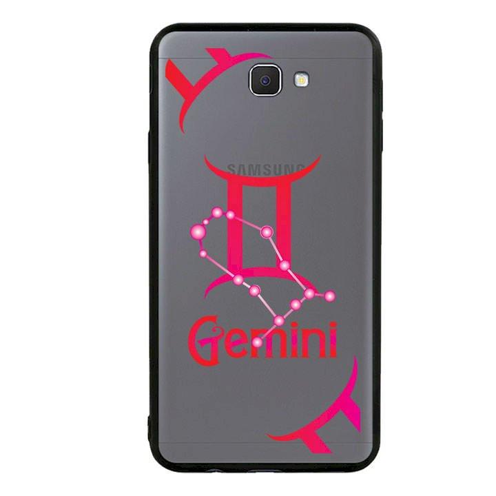 Ốp lưng Cho Điện Thoại Samsung Galaxy J7 Prime viền TPU cung Song Tử - Gemini