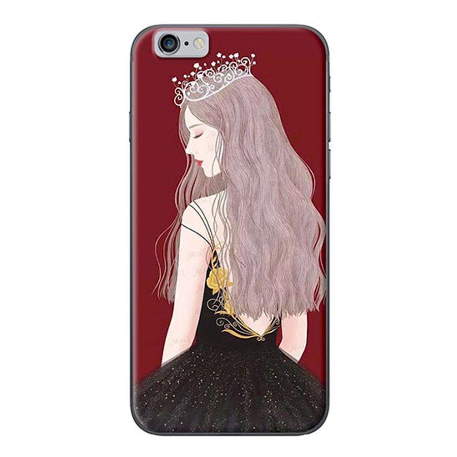 Ốp lưng dành cho điện thoại iPhone 6/6s - 7/8 - 6 Plus - Nữ Hoàng
