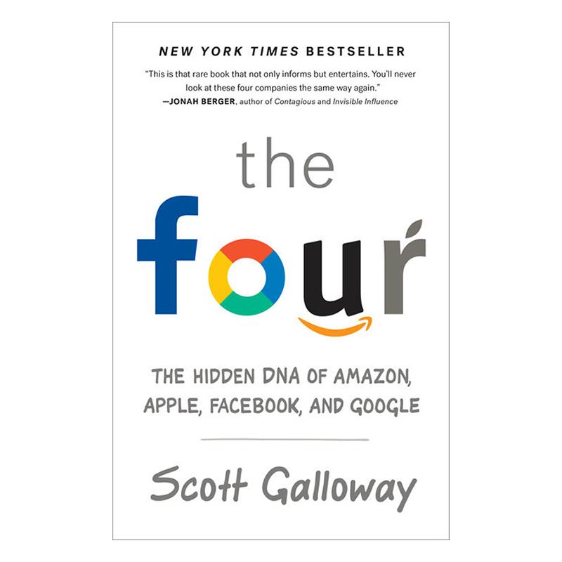 The Four: The Hidden Dna Of Amazon, Apple, Facebook, And Google - 1446436 , 5848356820393 , 62_8151664 , 207000 , The-Four-The-Hidden-Dna-Of-Amazon-Apple-Facebook-And-Google-62_8151664 , tiki.vn , The Four: The Hidden Dna Of Amazon, Apple, Facebook, And Google