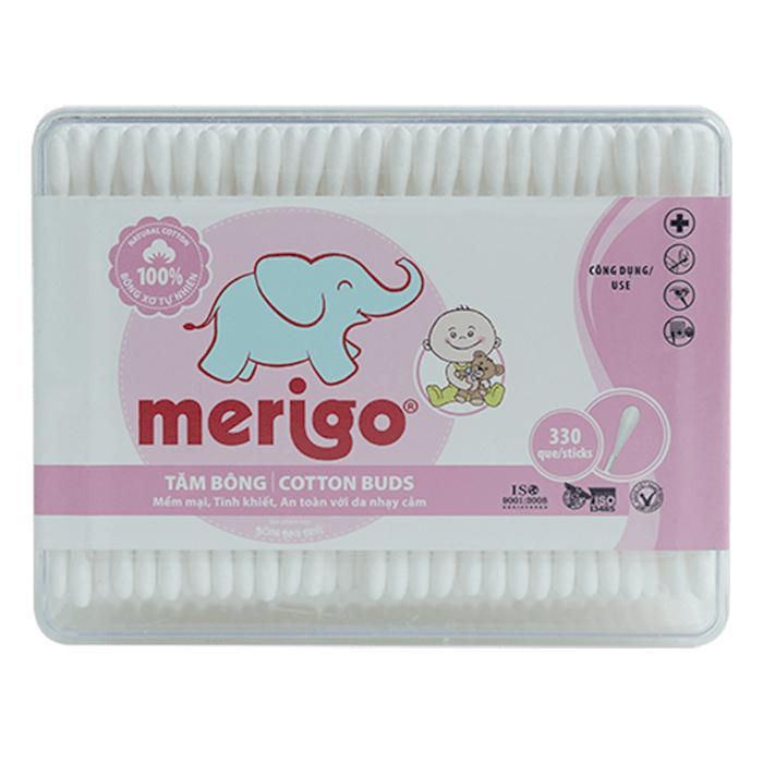 Tăm Bông Merigo Bông Bạch Tuyết TP152 (330 Que)