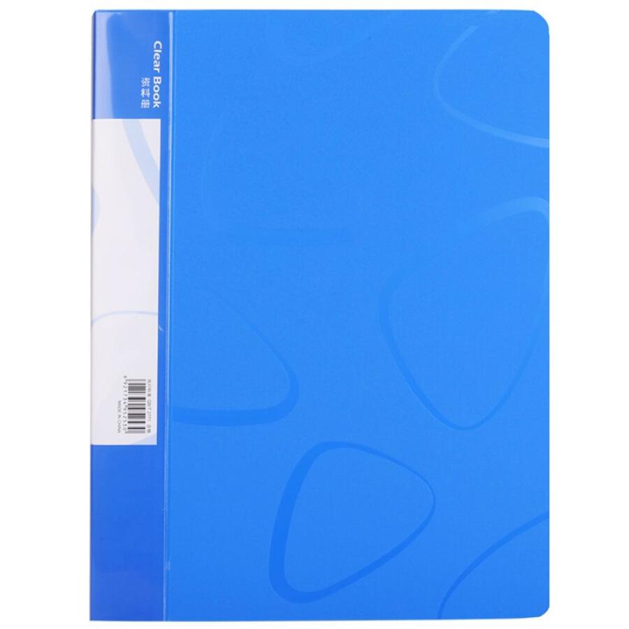 (Deli) 5253 A4 / 30 pages of books / pocket file book / loose book folder