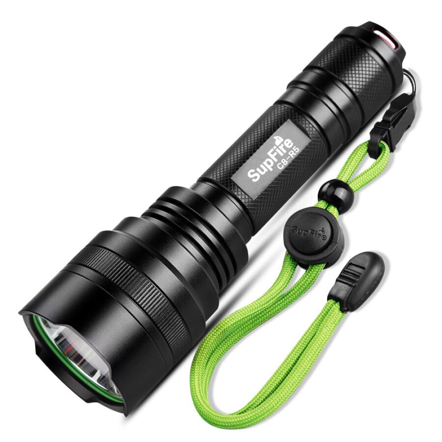Đèn pin led SupFire C8-R5 có thể sạc