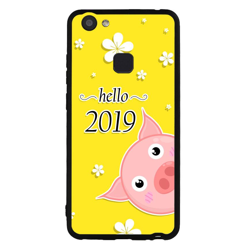 Ốp lưng dành cho điện thoại Vivo V7 - V7 PLUS - Y83 - Pig 2019