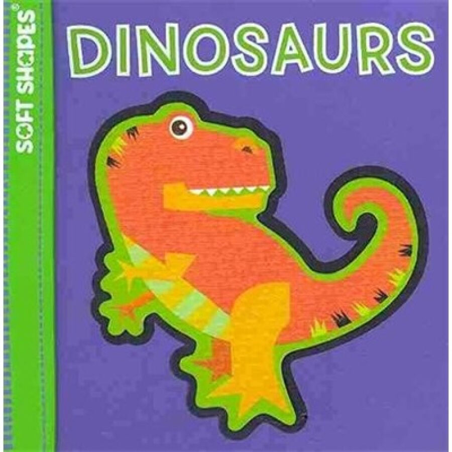 Soft Shapes: Dinosaurs (Babys First Book + Puzzle)