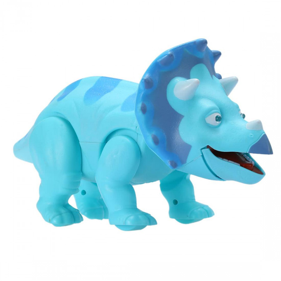 Cute Caron Walking Dinosaur Electric Light Y Image And Sound And Real Movement And Blue Led