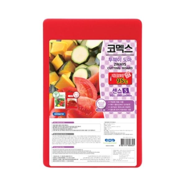 Thớt Nhựa Kháng Khuẩn Cao Cấp Komax Hàn Quốc 30cm - Tặng Gói Trà sữa Matcha Macca