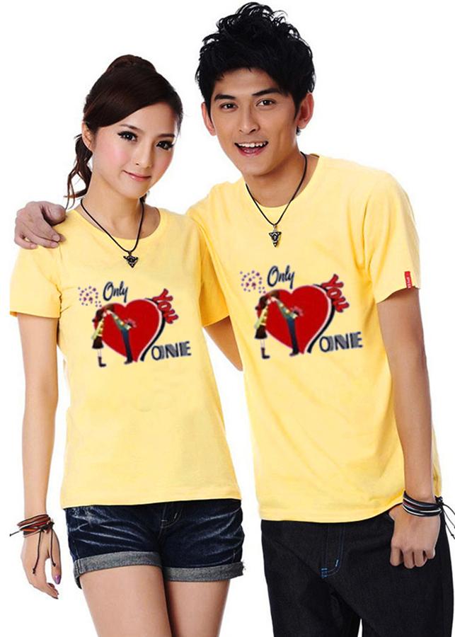 Bộ Áo Thun Đôi Nam Nữ Only love Onnie Màu Vàng - 7181984 , 5003052832402 , 62_10723927 , 250000 , Bo-Ao-Thun-Doi-Nam-Nu-Only-love-Onnie-Mau-Vang-62_10723927 , tiki.vn , Bộ Áo Thun Đôi Nam Nữ Only love Onnie Màu Vàng