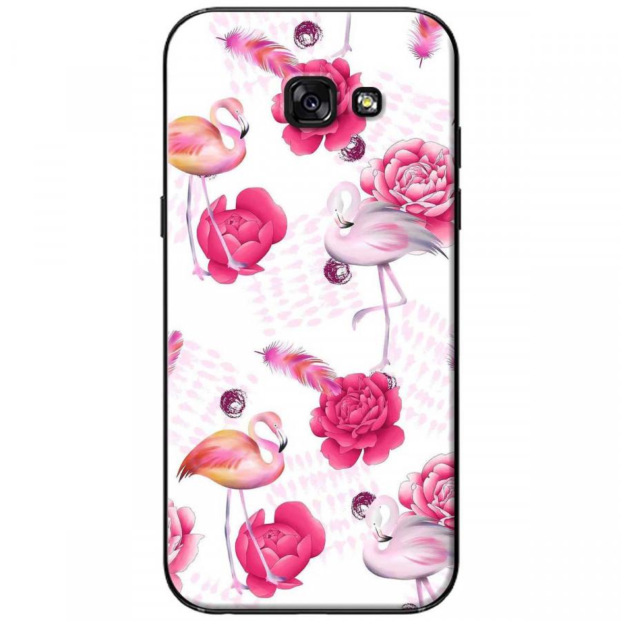 Ốp lưng dành cho Samsung A5 2017 Hạc hồng